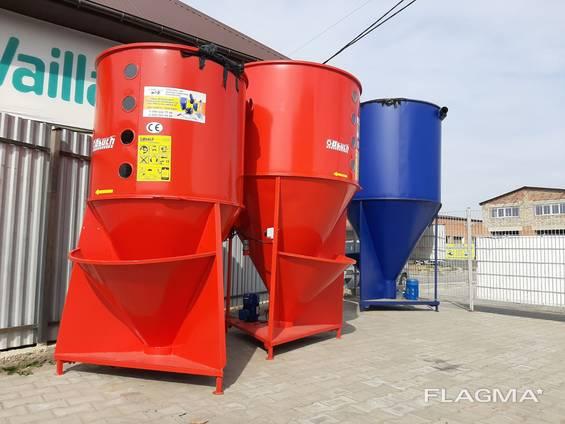 Кормосмеситель от 500 кг до 2000 кг. Комплект по ключ