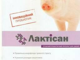Кормовой пробиотик для животных и птиц Лактісан - фото 1