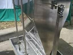 Кормовые автоматы для откорма свиней увлажненным кормом