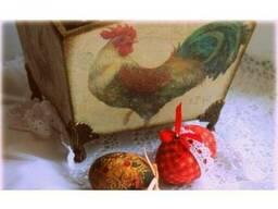 """Короб для кухни """"Куриный дворик"""""""