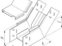 Короб электротехнический стальной КУВ - с углом внутреннего