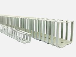 Короб перфорированный повышенной гибкости 12,5х12,5 мм (куски 0,5 м) Италия