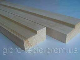 Коробка деревянная 120х28х2050мм, сосна, шт