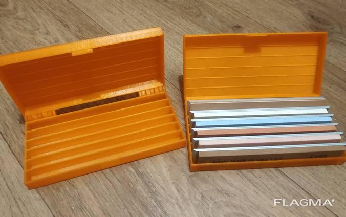 Коробка для хранения брусков для заточки ножей.