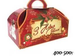 """Коробка для конфет """"Скринька """"Вінтаж класична"""" на 400-500г"""