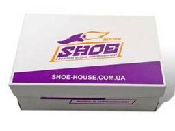 Коробка для обуви 330х270х120 белая