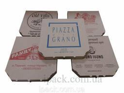 Коробка для пиццы кальцоне бурая 340*170*35 мм