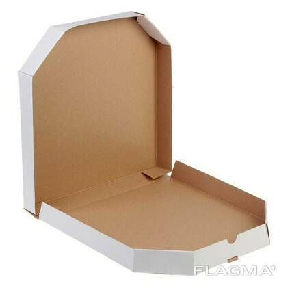 Коробка для пиццы 40 см белая