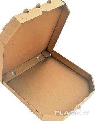 Коробка для пиццы 45 см бурая T-22