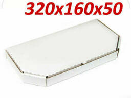 Коробка для половины пиццы 320х160х50 мм