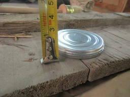 Коробка металева діаметром 70 мм та висотою 10 мм