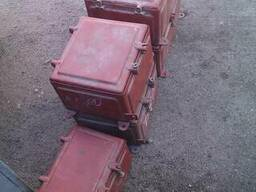 Коробка металлическая для изготовления электрощитов