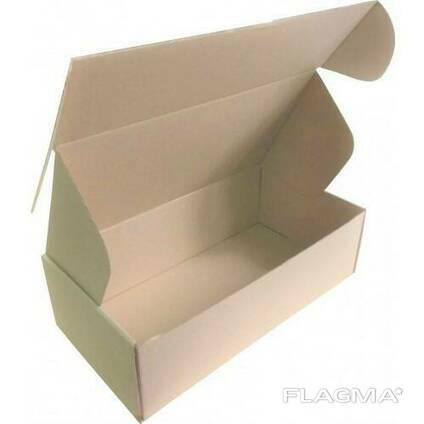 Коробка самосборная бурая 210x130x100, от 100 штук