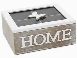 Коробка - шкатулка для хранения чая и сладостей BonaDi
