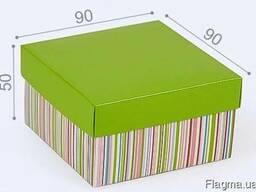 Коробки дизайнерские, коробка с логотипом
