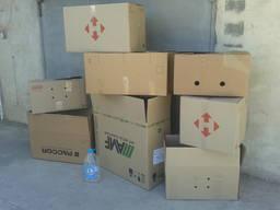 Коробки для переезда, гофроящики, гофрокороб