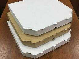 Коробки для пиццы, упаковка под пиццу. Размеры от 20 см до 1