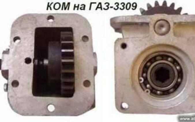 Коробки отбора мощности на ГАЗ-3309