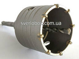 Коронка по бетону для перфоратора для розеток 68 мм SDS-plus