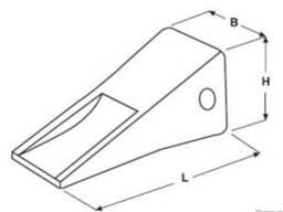 Коронки системи САТ J 600
