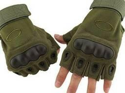 Короткопалые тактические перчатки Oakley