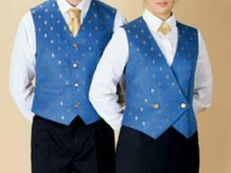 Корпоративные жилеты униформа для администраторов