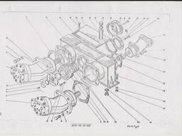 Корпус редуктора 6473-119-01-000 автокран КШТ-50. 01. ..