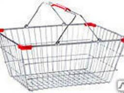 Корзинка покупательская для супермаркета
