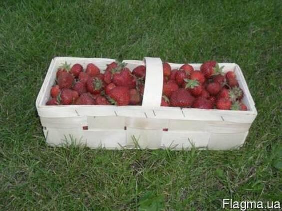 Корзинки із шпону для полуниці