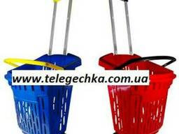 Корзины покупательские пластиковые в магазины Акция! - фото 5