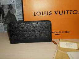 Кошелек клатч барсетка Louis Vuitton, кожа, Франция - фото 6
