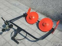 Косилка роторная ременная ШИП КР-01 кованые ножи (для мотобл