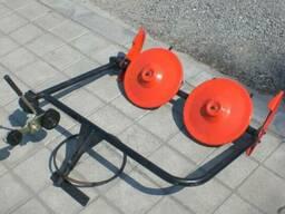 Косилка роторная ременная КР-01 ШИП кованые ножи