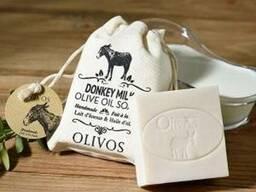 Косметическое мыло на основе ослиного, козьего молока
