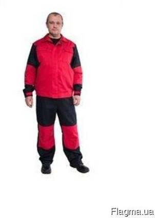 Рабочий полукомбинезон и куртка демисезонный
