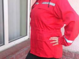 Костюм для скорой помощи, спецодежда, рабочая одежда.