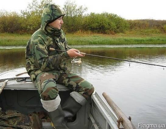 Костюм для рыбалки и охоты, камуфлированный, мужской. женский
