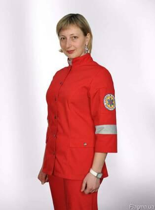 Костюм для скорой помощи д/с куртка и брюки, мужской, женски