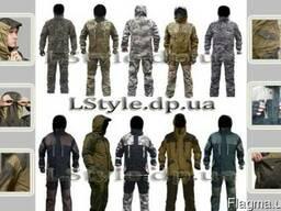 Пошив тактической одежды, военной формы и амуниции.