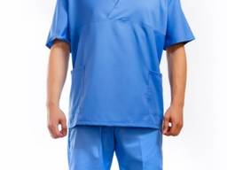 Костюм хирурга голубой