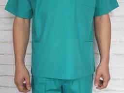 Костюм хирурга рубашечная ткань