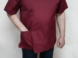 Костюм хирурга (ткань Таиланд цвет бордо