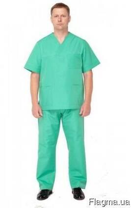 Ткань для хирургического костюма верхний ограничитель для молнии