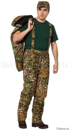 Костюм камуфлированный д/с, мужской, куртка, брюки