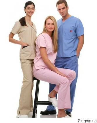 Костюм медицинский брюки и куртка мужской или женский
