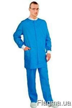 Костюм медицинский мужской с удлиенной курткой