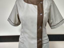 Костюм медицинский, униформа для горничной, форма массажиста