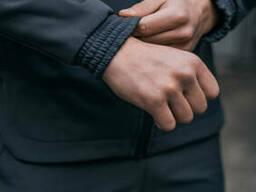 Костюм Мужской Softshell серый демисезонный Intruder осенний весенний . Куртка мужская. ..