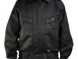 Костюм охранника черный. Спецуниформа для охранных структур