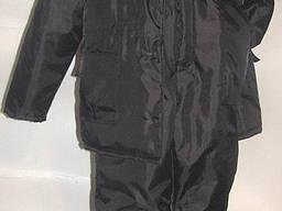 Костюм охранника утепленный куртка с полукомбинезоном